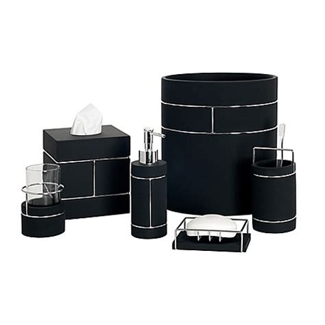 india ink bathroom accessories india ink blair resin bath ensemble bed bath beyond