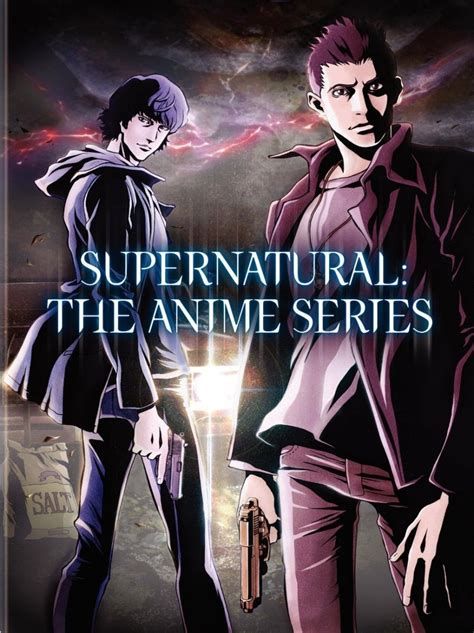 anime series writer librarian blogger dvd review supernatural the