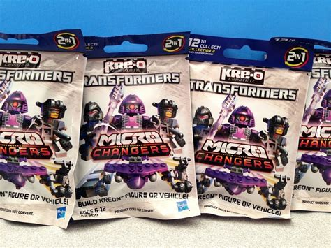 Toys R Us Transformers Sweepstakes - kre o transformers micro changers kreons collection 2 blind bag pack free toy giveaway youtube