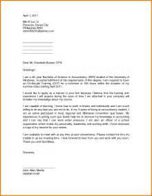 Sample Application Letter And Resume For Ojt 10 Application Letter For An Ojt Appeal Letters Sample