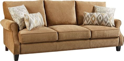 Waverly Sofa by Waverly Antique Brown Sofa From Standard Furniture Coleman Furniture