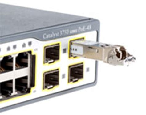 Harga Sfp Module Multimode forcing a cisco catalyst switch to use 3rd sfp modules