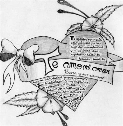 imagenes para dibujar a lapiz de novios dibujos de amor a l 225 piz arte con graffiti