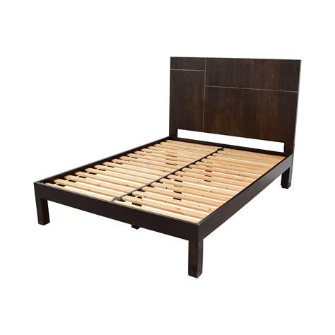 wood platform bed frame queen 53 off west elm west elm wood platform queen bed frame