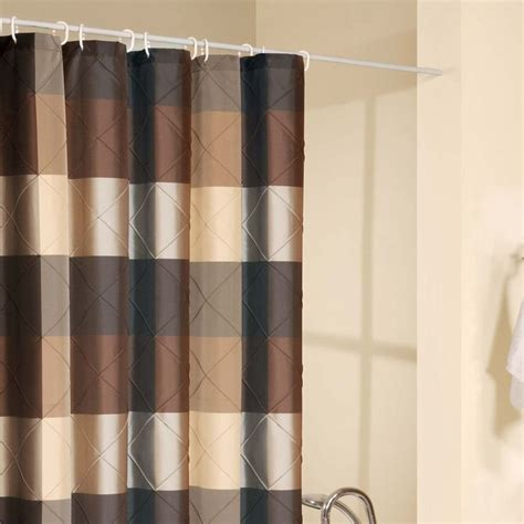 brown and pink shower curtain shower curtains brown design bookmark 16361