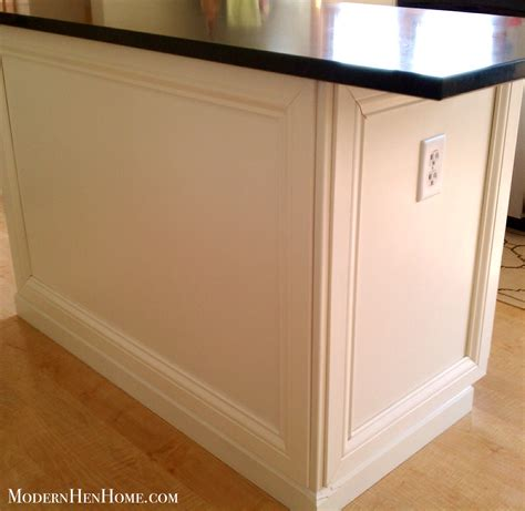 kitchen island molding design decoration