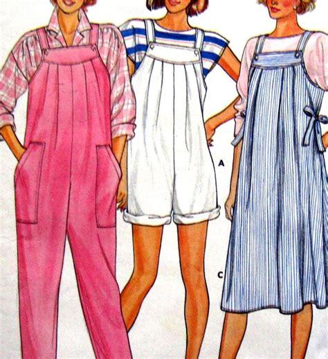 pinterest jumpsuit pattern butterick 3308 uncut maternity pattern misses jumpsuit