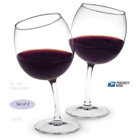 cool glassware 12oz unique tipsy crooked curved wine glasses ebay