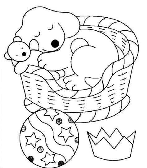 sleeping puppies coloring pages sleeping dog coloring pages