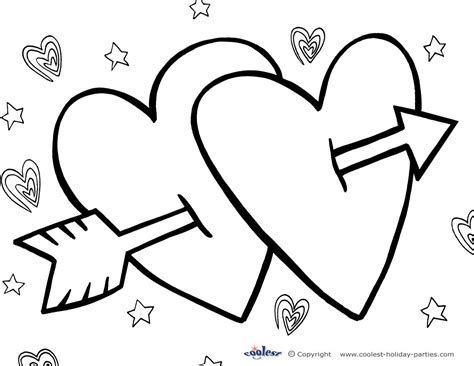 printable valentine s day coloring page 3