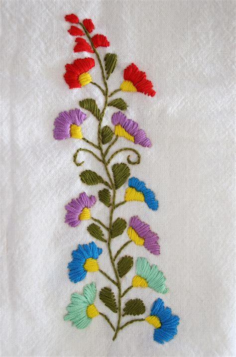 flower pattern embroidery embroidery flower pattern makaroka com