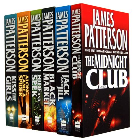 james patterson books james patterson alex cross series 6 books collection set