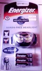 Senter Inframerah senter kepala headlight energizer rangkaian kata