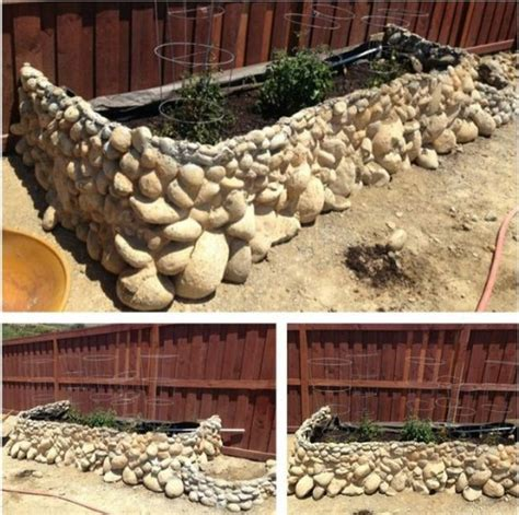 rock bed 40 beautiful and easy diy flower beds to brighten your