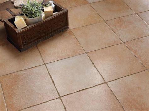 indoor outdoor porcelain stoneware floor tiles with terracotta effect antica toscana by ceramica