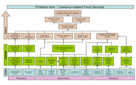 problem tree template plant production and protection division programme review