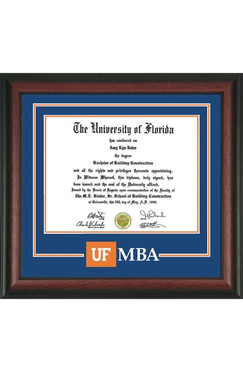 College Confidential Uf Undergrad To Grad Mba by Contemporary Diploma Picture Frames Image Collection