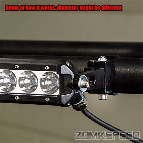2pc 1 625 Quot Bull Bar Roll Cage Led Light Bar Tube Mount Bull Bar With Led Light Bar