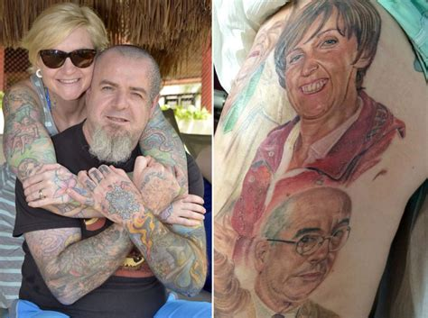 tattoo cover up ken barlow biggest coronation street fan ever has characters tattooed