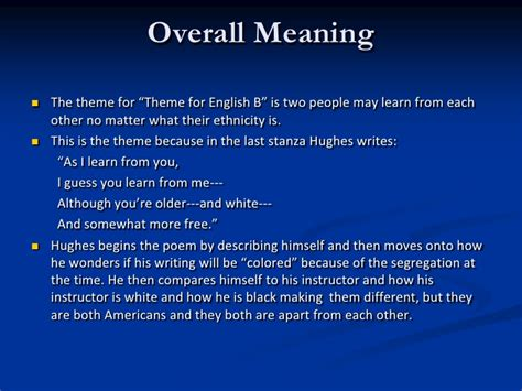 themes about english theme for english b analysis thesis statement