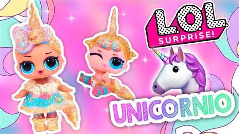 imagenes de unicornios de juguete unicornio glitter con mu 241 ecas lol sorpresa y lil sister