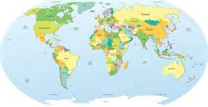 Global World Map by Global Map Wallpapers Wallpaper Cave