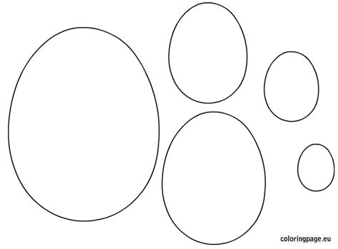 printable egg shapes 9 images of easter egg shape coloring page blank egg