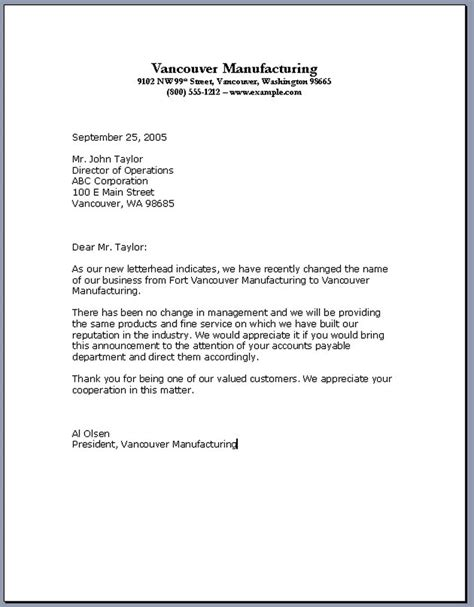 professional business letter format template archives