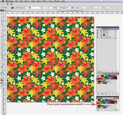 pattern maker adobe illustrator create your own pattern swatch an easy 5 step illustrator