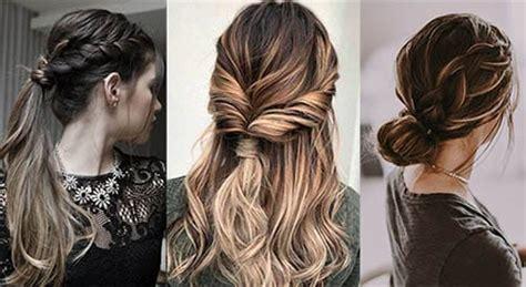 6 peinados faciles rapidos y bonitos para ir a youtube 32 peinados f 193 ciles y r 225 pidos paso a paso modelos 2018