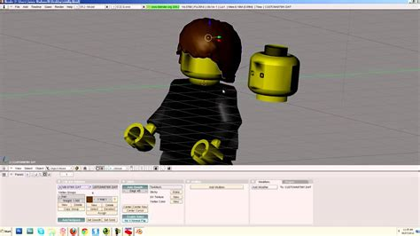 tutorial lego blender lego blender tutorial part 6 the minifig youtube