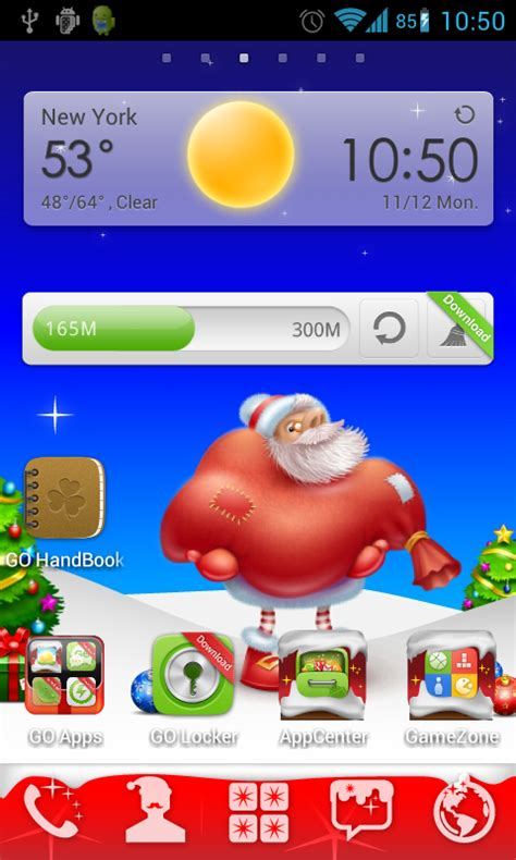 christmas themes samsung free christmas go launcher theme apk download for android