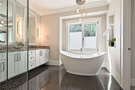 transitional style bathrooms what does a transitional style bathroom look like in