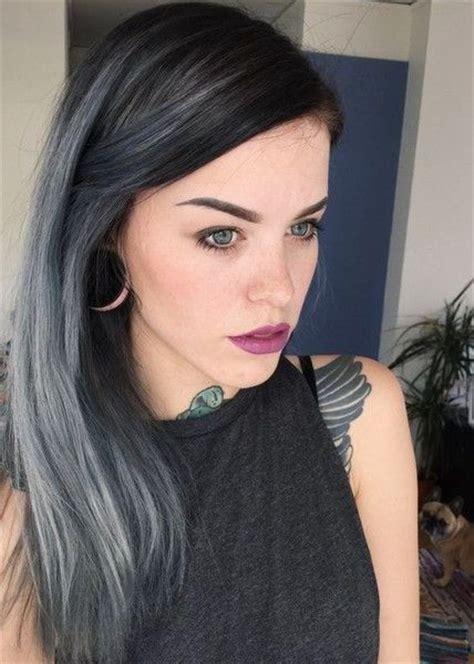 streaks of color in gray hair 25 best ideas about gray streaks on pinterest silver