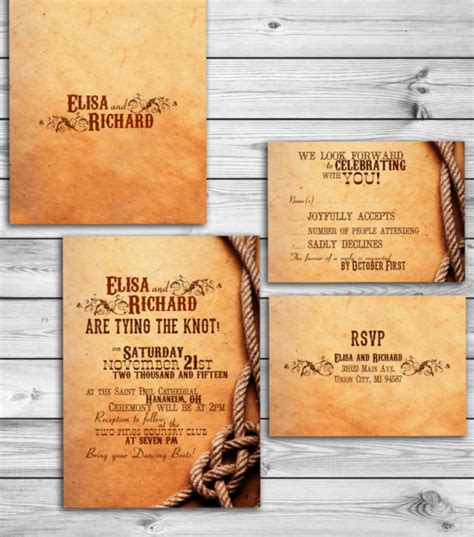printable western wedding invitations free free western invitation template orderecigsjuice info