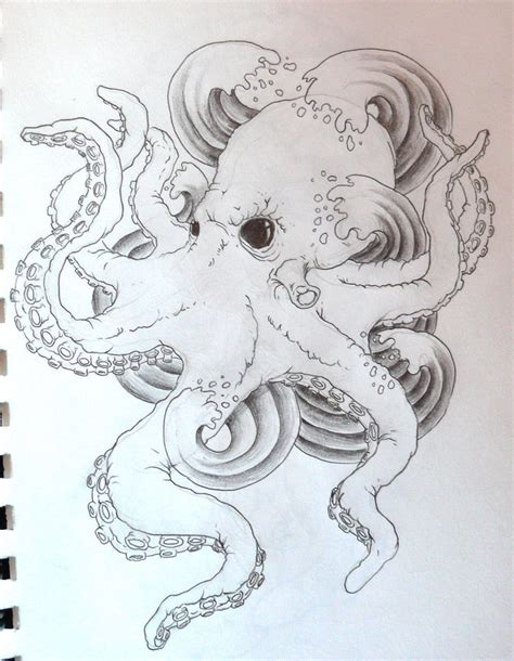 squid tattoo designs 54 best octopus tattoos images on