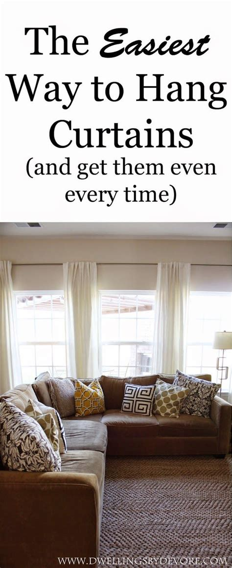 best way to hang curtains 52 best creative ways to hang curtains images on pinterest