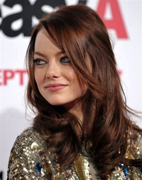 emma stone brown hair 25 best ideas about emma stone hair on pinterest emma