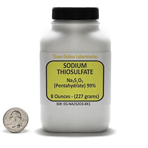 Sodium Thiosulfate Detox Calcium by Sodium 187 Parapharmacie Produits Discount Sant 233