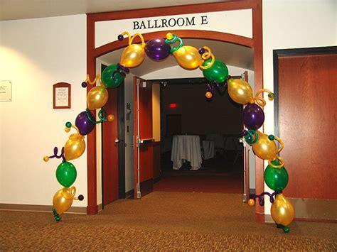 Mardi gras balloon decorations party favors ideas
