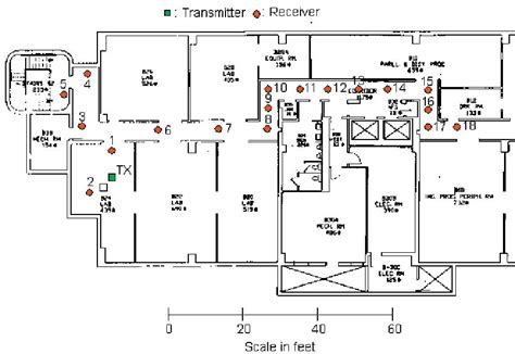 electrical floor plans usc ee ultralab usc ranging test 1