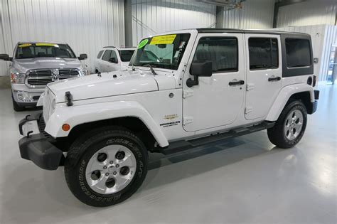 Pre Owned Jeep Pre Owned 2013 Jeep Wrangler Unlimited Saha Convertible In