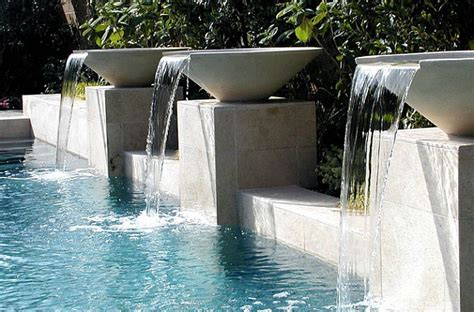 pool fountain ideas garden pools fountains waterfalls pool design ideas