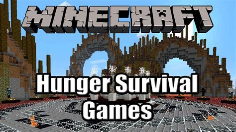 hunger games themes survival minecraft hunger games survival lava world youtube