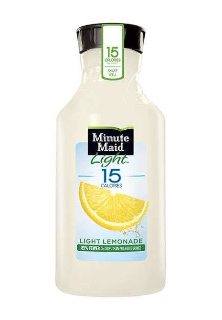 how many carbs in minute light lemonade minute lemonade nutrition facts besto