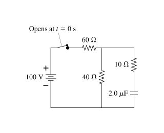what is the charge on the capacitor express your answer in nc the switch in the figure figure 1 has been closed chegg