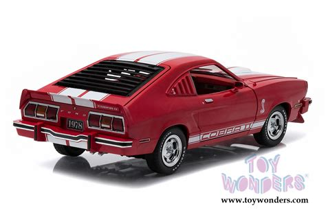 Grrenlight Ford Mustang 1978 ford mustang ii cobra ii top 12940 1 18 scale