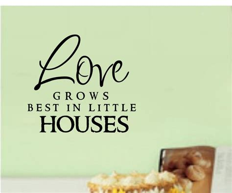Grows Best In Houses by Grows Best In Houses Vinyl Decal Sticker Wall