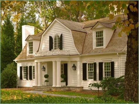 dutch colonial house style the enchanted home