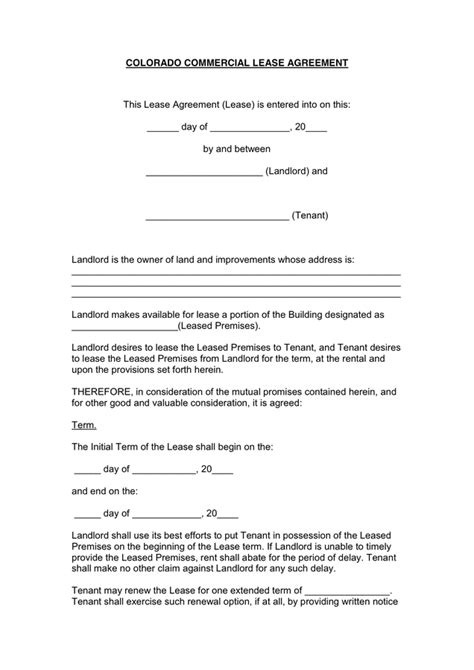 Commercial Lease Renewal Letter To Tenant commercial lease renewal letter sle sle lease